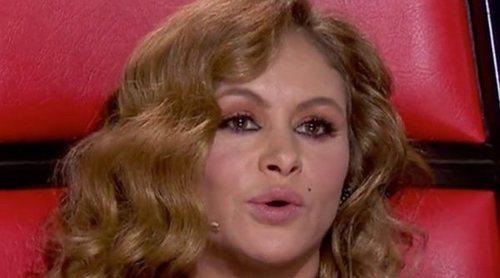 El desprecio de Paulina Rubio a David Bisbal en 'La Voz Senior'