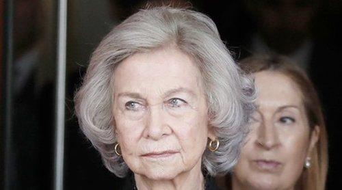 La posición de la Reina Sofía tras la retirada de los actos oficiales del Rey Juan Carlos