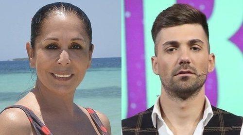 Isabel Pantoja pone verde a Alejandro Albalá y a su madre en 'Supervivientes 2019': 'Es un mierda'
