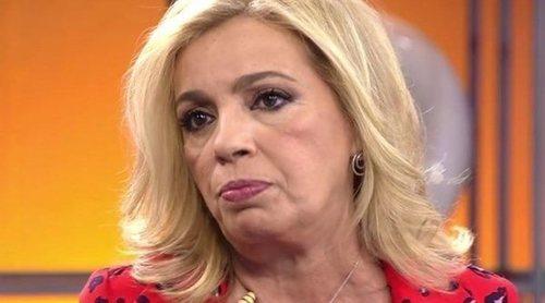 Carmen Borrego, dispuesta a reconciliarse con sus excompañeros de 'Sálvame'