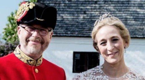 Alexandra zu Sayn-Wittgenstein, hija de Benedicta de Dinamarca, se casa en secreto con Michael Ahlefeldt-Laurvig-Bille