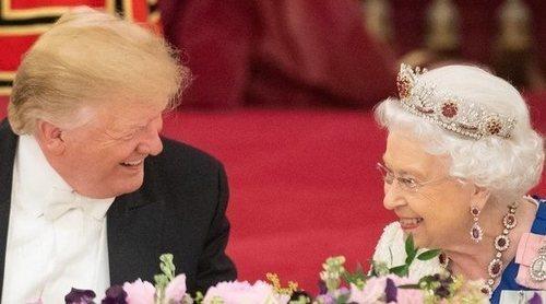 El impresionante despliegue de la Familia Real Británica con los Trump pese a sus escándalos y diferencias