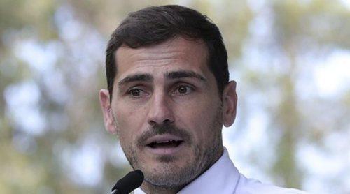 Iker Casillas vuelve al trabajo y se reencuentra con algunos compañeros de profesión