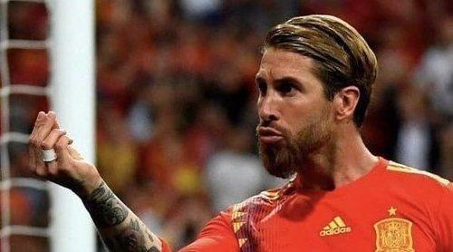 El último gol que Sergio Ramos le ha dedicado a Pilar Rubio como prometida: 'Quedamos el sábado, ¿te parece?'