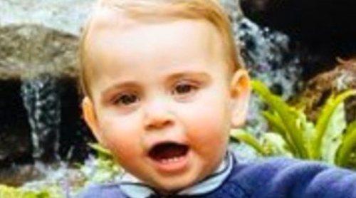 El Príncipe Luis de Cambridge, inquieto y expresivo en su debut en Trooping the Colour 2019