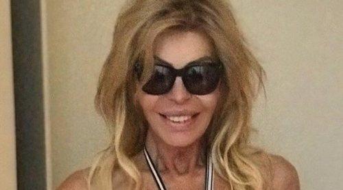 Lluvia de críticas a Bibiana Fernández por su foto en bikini con exceso de retoques