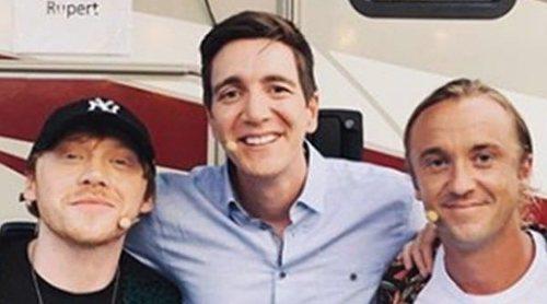 Ron Weasley, Tom Felton y los hermanos Phelps se reencuentran tras trabajar juntos en 'Harry Potter'
