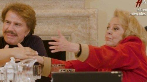 El emotivo homenaje de 'Mi casa es la tuya' a 'Un, dos, tres...' con Bigote Arrocet, Mayra Gómez Kemp y Fedra Lorente