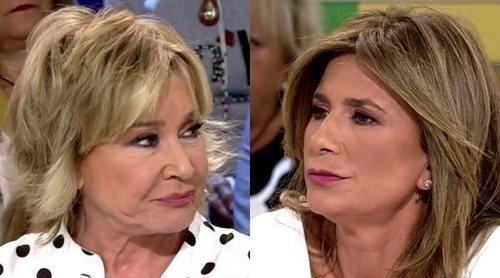 Mila Ximénez y Gema López cara a cara en 'Sálvame' después de romper su relación de amistad