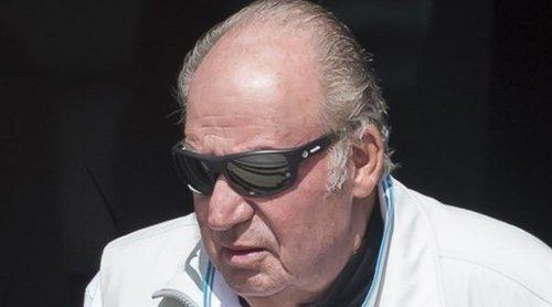 El Rey Juan Carlos, preparado para competir en las regatas de Sanxenxo