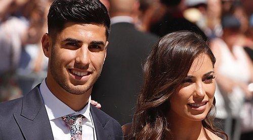 Marco Asensio y Sandra Garal aprovechan la boda de Sergio Ramos y Pilar Rubio para oficializar su noviazgo