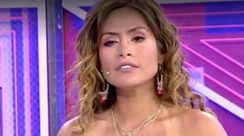 La bronca entre Miriam Saavedra y Rafa Mora en el 'Deluxe': 'En los pasillos me hace ojitos y aquí me critica'
