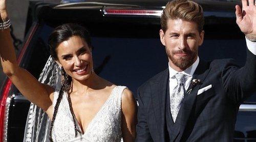 Las ausencias de la boda de Sergio Ramos y Pilar Rubio: de Piqué y Shakira a Zidane y Marc Anthony