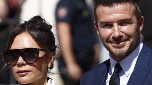 David Beckham celebra el Día del Padre en Sevilla tras la boda de Pilar Rubio y Sergio Ramos