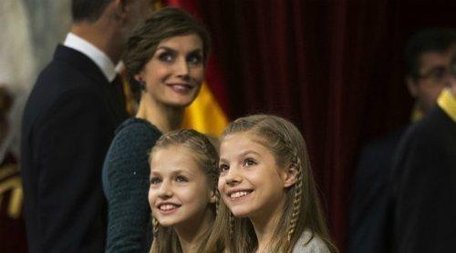 De tal palo, tal astilla: la Reina Letizia, la Princesa Leonor y la Infanta Sofía, un trío inseparable
