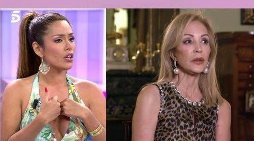 Miriam Saavedra vs Carmen Lomana: 'Es extremadamente estúpida y friki, adinerada pero pobre de corazón'