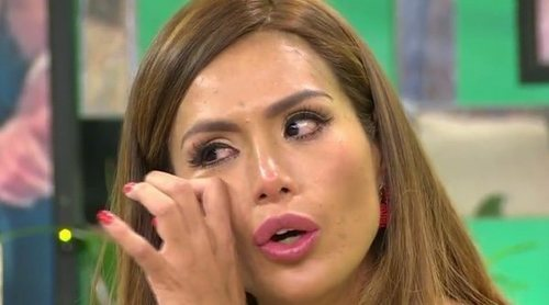 El mosqueo de Miriam Saavedra con Carlos Lozano en 'Sálvame': 'Espero que luego no me llames arrepentido'