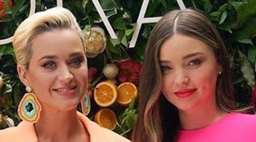 Miranda Kerr y Katy Perry, ex y actual pareja de Orlando Bloom, demuestran la relación que hay entre ambas