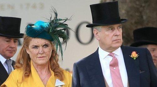 Sarah Ferguson y la buena relación con su exmarido, el Príncipe Andrés, en el Royal Ascot