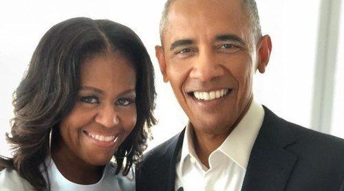 Barack y Michelle Obama visitan a George Clooney y a Amal Alamuddin en Italia