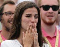 Sandra Gago, el talismán de Feliciano López tras proclamarse campeón del torneo de Queen's en Londres