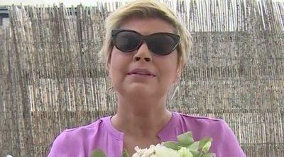 Terelu Campos cuenta cómo le dio el ramo Belén Esteban en su boda: 'Me puse a llorar porque no lo esperaba'