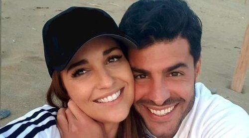 Paula Echevarría y Miguel Torres, fascinados con el musical de 'El Rey León'