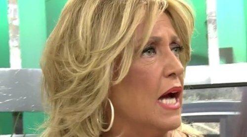 Lydia Lozano cuenta el traspié de Maria Patiño en la boda de Belén Esteban: 'Haciendo una gracia, se cayó'