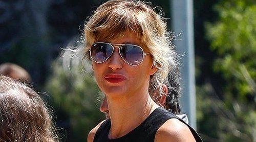 Susanna Griso da el último adiós a su hermana arropada por familiares y rostros conocidos como Ada Colau