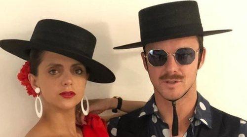 Macarena Gómez y Aldo Comas dan el toque flamenco  en la fiesta temática de la boda de Carlota Casiraghi