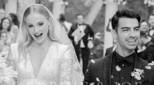 Primera foto de la boda de Joe Jonas y Sophie Turner