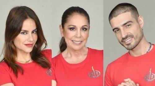 Mónica Hoyos, Isabel Pantoja y Fabio Colloricchio son los nuevos nominados de 'Supervivientes 2019'