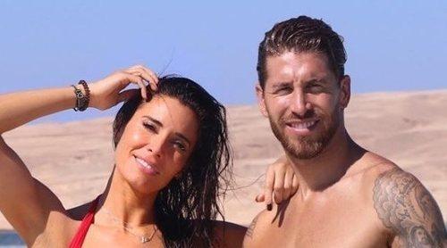 Pilar Rubio y Sergio Ramos acaban su luna de miel con sus hijos en un increíble parque acuático en Egipto