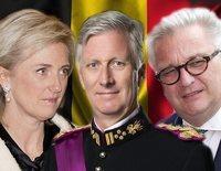 Así son y así se llevan el Rey Felipe de Bélgica, la Princesa Astrid y el Príncipe Laurent
