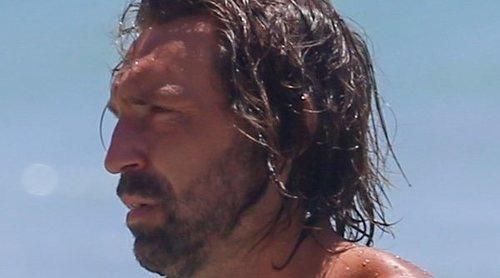 Andrea Pirlo presume de familia perfecta durante sus vacaciones en Ibiza