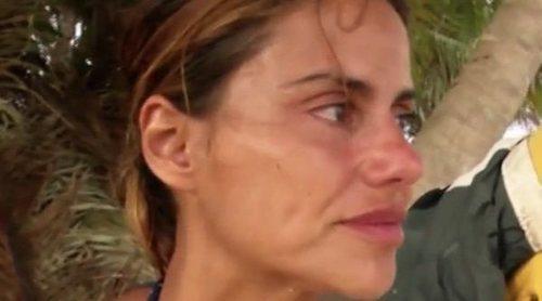 El monumental cabreo de Mónica Hoyos con Omar Montes en 'Supervivientes 2019': 'Falso, más que falso'
