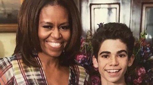 Michelle Obama dedica a Cameron Boyce un emotivo mensaje tras su muerte