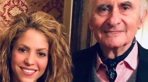 Shakira se despide de su exsuegro fallecido, el político Fernando de la Rúa
