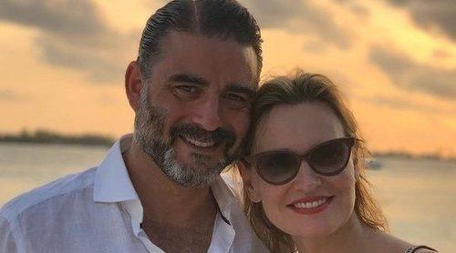 Así ha sido la romántica luna de miel de Ainhoa Arteta y Matías Urrea en Maldivas