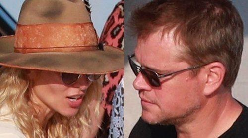 Elsa Pataky, Chris Hemsworth y Matt Damon disfrutan de las maravillas de Ibiza con sus amigos