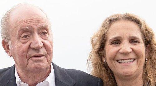 La broma del Rey Juan Carlos a la Infanta Elena que evidencia su mal perder