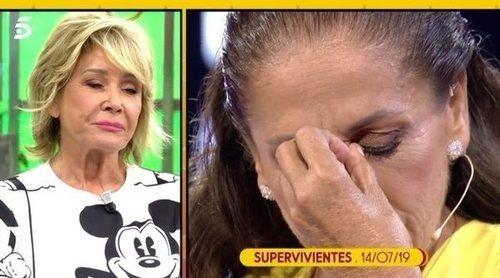 Mila Ximénez se arrodilla ante Isabel Pantoja tras su paso por 'Supervivientes 2019'