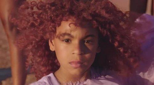 Blue Ivy, la hija de Beyoncé, protagonista de su videoclip 'Spirit'