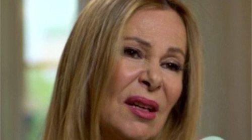 Ana Obregón revela que le diagnosticaron un tumor cuando era pequeña: 'No podía ir al cole'