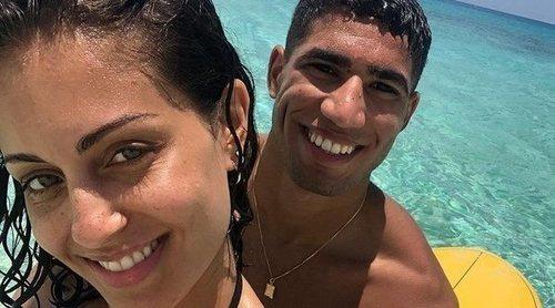 Las románticas vacaciones de Hiba Abouk y su novio Achraf Hakimi