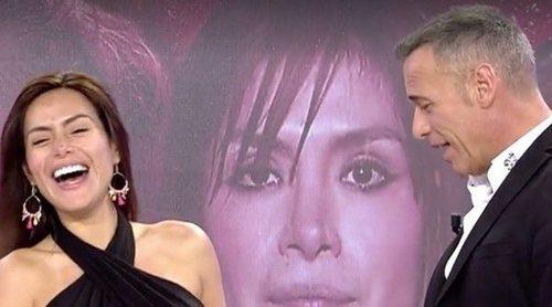 Carlos Lozano le pide matrimonio a Miriam Saavedra en directo y ella le hace una doble cobra