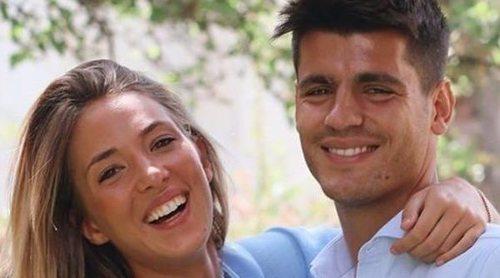 Alice Campello, sorprendida por Álvaro Morata en el segundo aniversario de su boda
