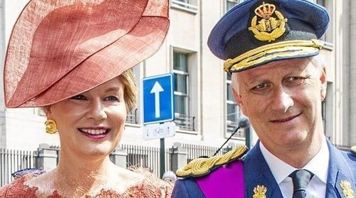 La Familia Real de Bélgica participa en los eventos de celebración del Día Nacional