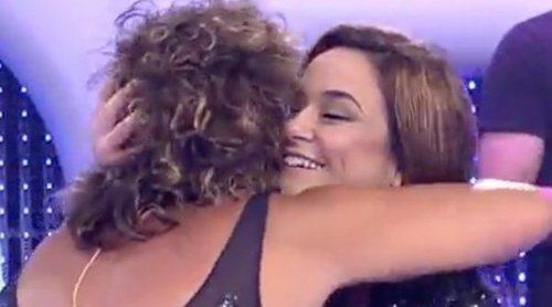 La complicidad y los piques entre Toñi Moreno y Rosana en 'El concurso del año'