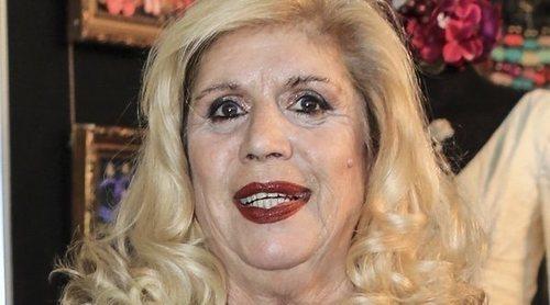 Primeras imágenes de María Jiménez tras recibir el alta hospitalaria después de tres meses ingresada